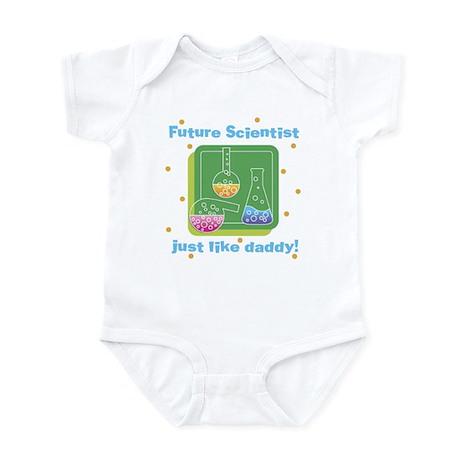Future Scientist Like Daddy Baby Infant Bodysuit