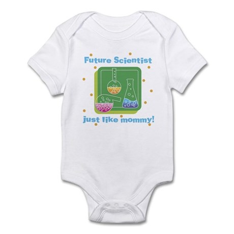 Future Scientist Like Mommy Baby Infant Bodysuit