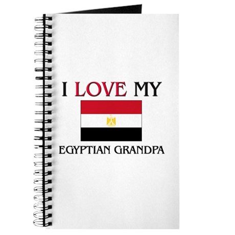 I Love My Egyptian Grandpa Journal
