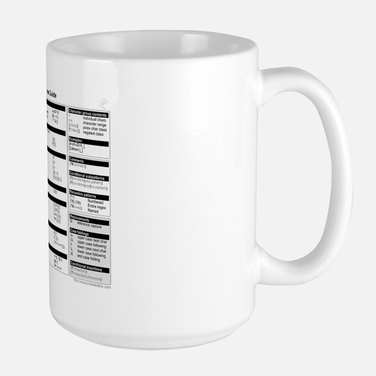 regex-cheatsheet-mug Mugs