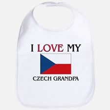 I Love My Czech Grandpa Bib