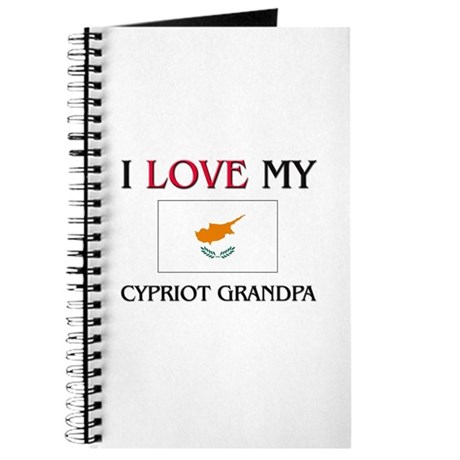I Love My Cypriot Grandpa Journal
