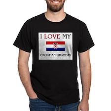 I Love My Croatian Grandpa T-Shirt