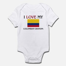 I Love My Colombian Grandpa Infant Bodysuit