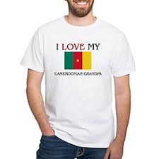 I Love My Cameroonian Grandpa Shirt