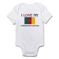 I Love My Cameroonian Grandpa Infant Bodysuit