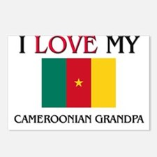 I Love My Cameroonian Grandpa Postcards (Package o