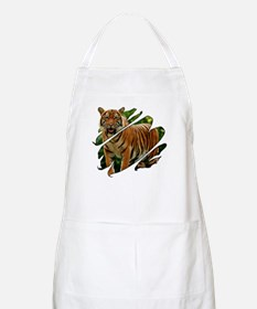 See Through Tiger BBQ Apron