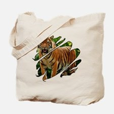 See Through Tiger Tote Bag