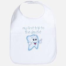 My First Trip to Dentist Baby Infant Bib