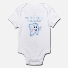 My First Trip to Dentist Baby Infant Bodysuit