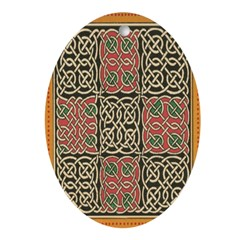 Celtic Splendour Oval Ornament