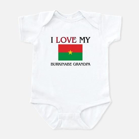 I Love My Burkinabe Grandpa Infant Bodysuit
