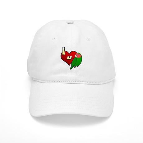 Love Peachfaced Lovebird Hat