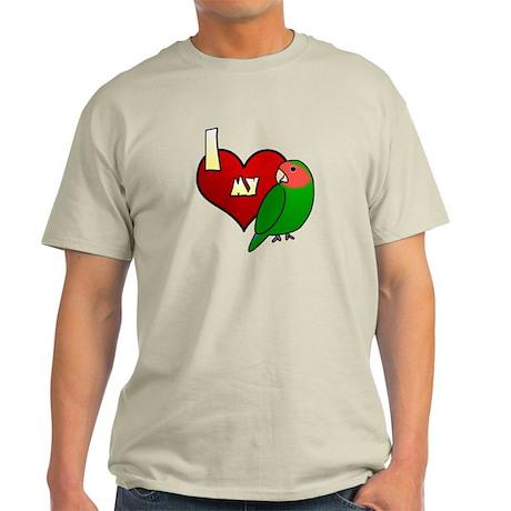 Love Peachfaced Lovebird Light T-Shirt