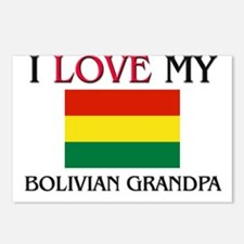 I Love My Bolivian Grandpa Postcards (Package of 8