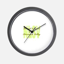 Unique Attachment parenting Wall Clock