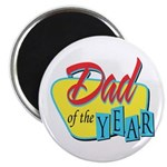 "Dad of the Year 2.25"" Magnet (100 pack)"