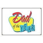 Dad of the Year Banner