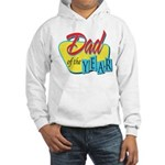 Dad of the Year Hooded Sweatshirt