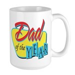 Dad of the Year Large Mug