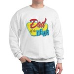 Dad of the Year Sweatshirt