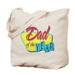 Dad of the Year Tote Bag