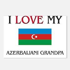 I Love My Azerbaijani Grandpa Postcards (Package o