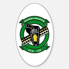 VFA 105 Gunslingers Oval Decal