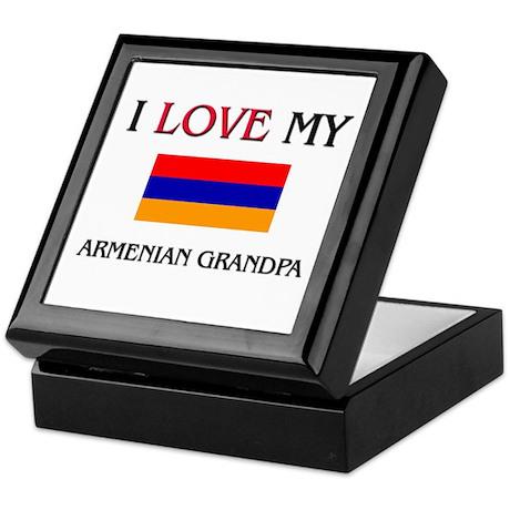 I Love My Armenian Grandpa Keepsake Box