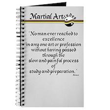 Martial Artitude Horace Journal