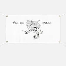 Westhighland White Terrier Paw Banner