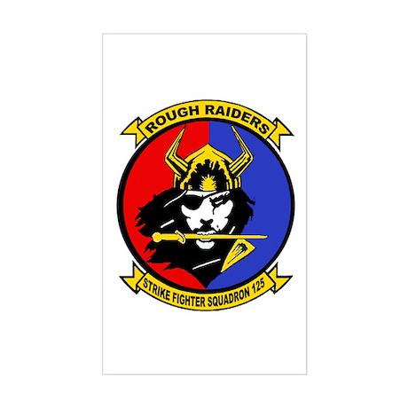 VFA 125 Rough Raiders Rectangle Sticker