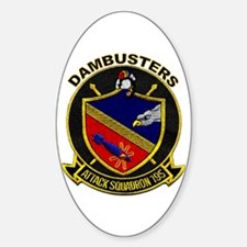 VFA 195 Dambusters Oval Decal
