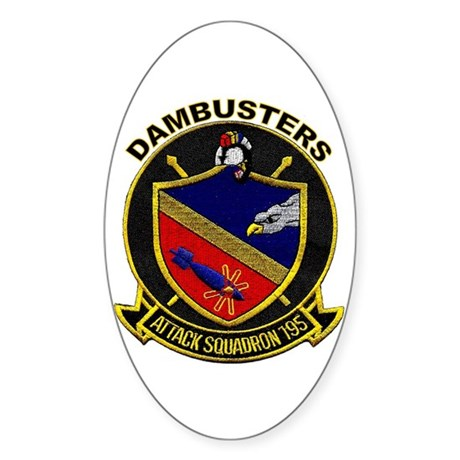 VFA 195 Dambusters Oval Sticker