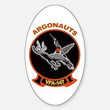 VFA 147 Argonauts Oval Decal
