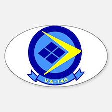 VFA 146 Blue Diamonds Oval Decal