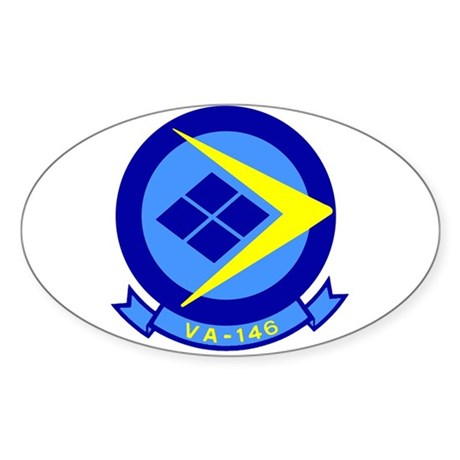 VFA 146 Blue Diamonds Oval Sticker
