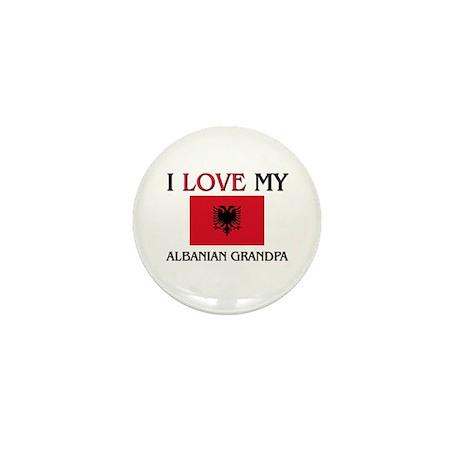 I Love My Albanian Grandpa Mini Button (10 pack)