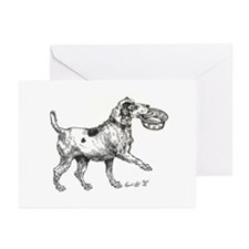 Cute Lancashire heeler Greeting Cards (Pk of 20)