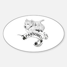 Westhighland White Terrier Paw Decal