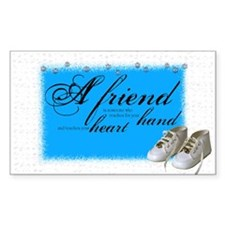 friend boots Rectangle Decal