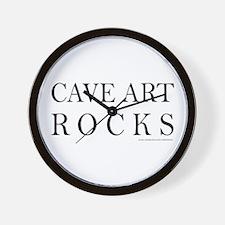 CAVE ART ROCKS Wall Clock