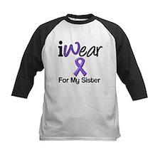 Purple Ribbon Sister Tee