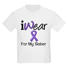 Purple Ribbon Sister T-Shirt