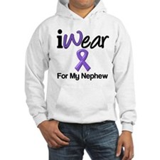 Purple Ribbon Nephew Hoodie