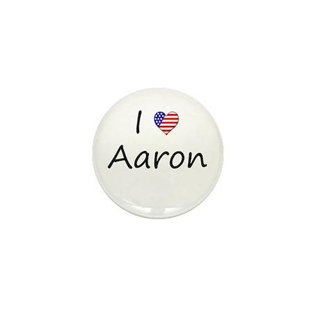 """I """"Heart"""" Aaron Mini Button"""