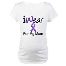 Purple Ribbon Mom Shirt