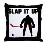 Hockey Throw Pillow