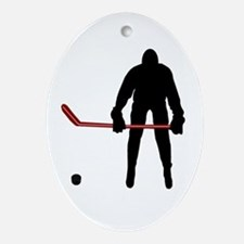 Hockey Oval Ornament